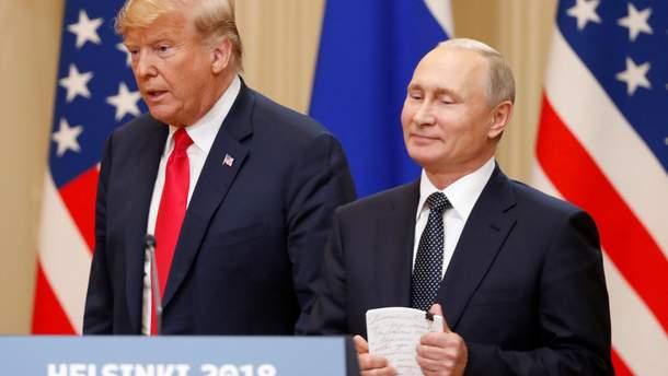 Вмешательство России в выборы США