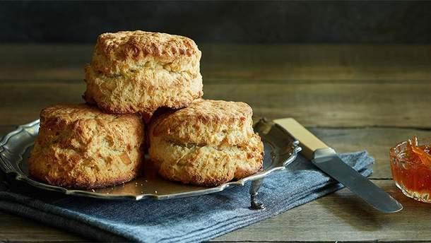 Британские скони – рецепт булочек к завтраку