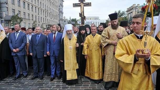 Московский патриархат насчитал в Украине 20 миллионов своих сторонников