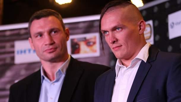Виталий Кличко поддержал Александра Усика