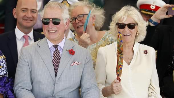 Принц Чарльз и жена Камилла