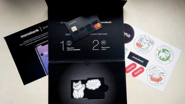 Monobank запускает валютные карты в долларах и евро
