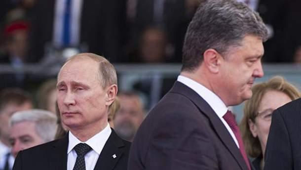 Порошенко не встретится с Путиным в Париже