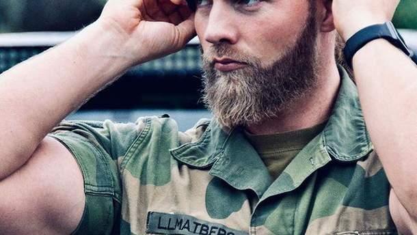 Лейтенант Королевского флота Норвегии Лассе Матберг