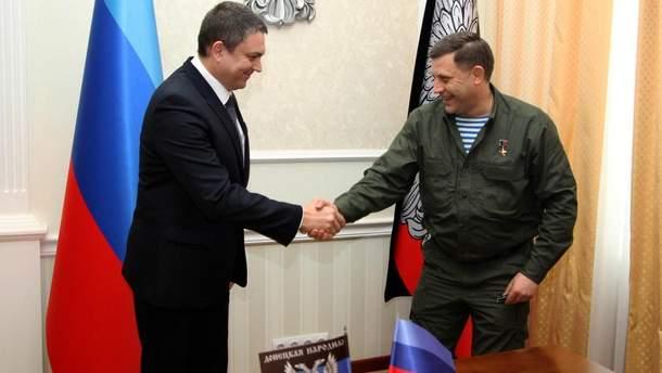 Леонид Пасечник и покойный Александр  Александр Захарченко