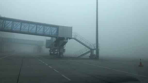 В Киеве из-за тумана отменили несколько авиарейсов