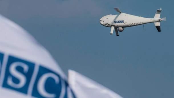 Российские наемники пытались уничтожить летательный аппарат ОБСЕ