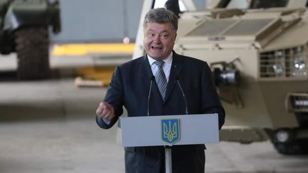 Порошенко обратился к жителям оккупированных территорий из-за выборов на Донбассе