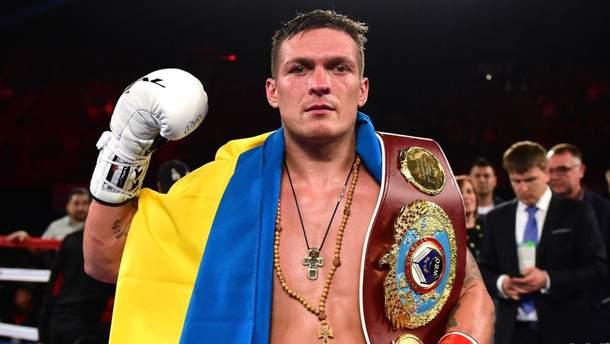 Усик в 2019 году проведет два боксерских боя