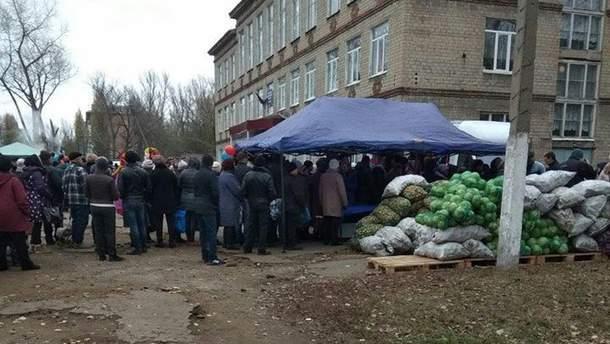 Избирательные участки на оккупированном Донбассе
