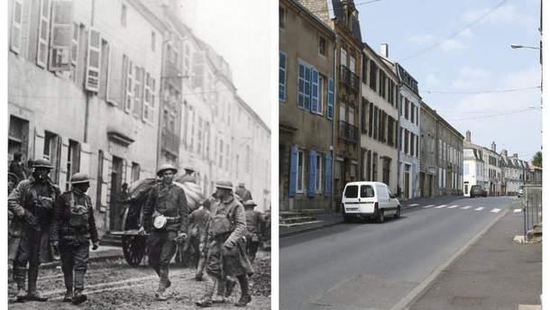 Первая мировая война когда-то и сейчас: фотосравнение
