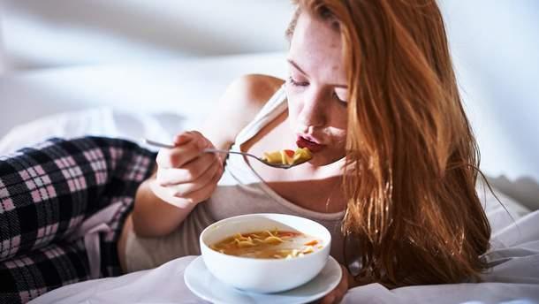 Що їсти під час застуди