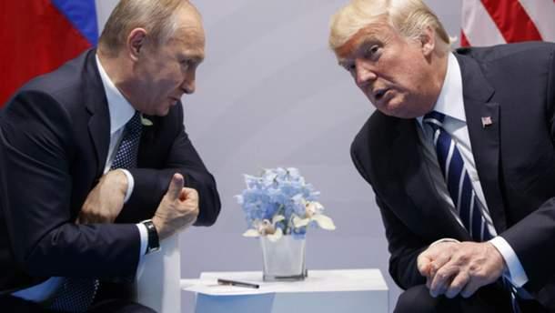 Путин и Трамп планируют обсудить ракетный договор