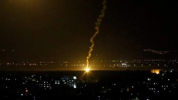 Ізраїль завдав удару у відповідь по Сектору Гази