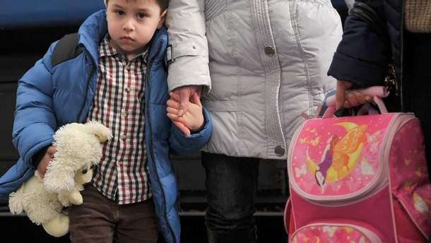 В Украине официально зарегистрировано более 1,5 миллиона переселенцев
