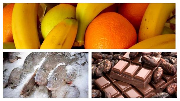 Какие продукты Украина завозит из-за рубежа