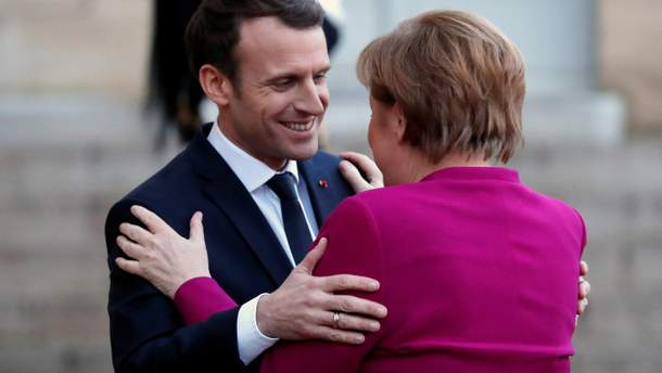 Меркель поддержала идею Макрона по созданию единой европейской армии