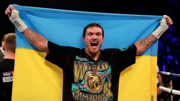 Александр Усик уверяет, что у него только один украинский паспорт