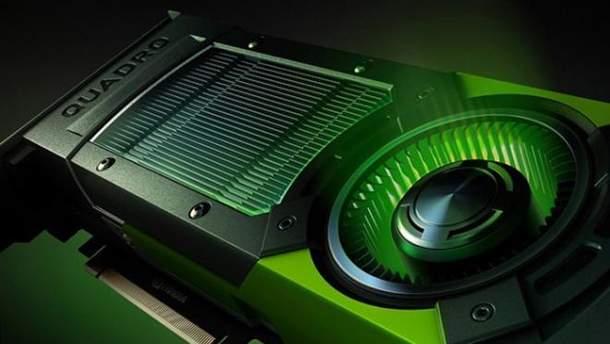 """NVIDIA представила """"бюджетну"""" професійну відеокарту Quadro RTX 4000"""