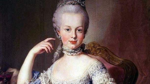 Французская королева Мария-Антуанетта