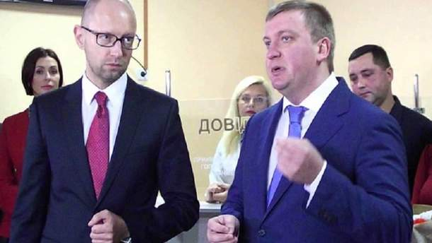 НАБУ открыло производство против Яценюка и Петренко