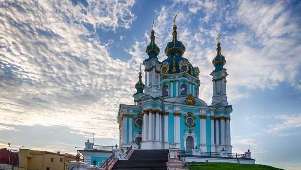 Утром 15 ноября неизвестные пытались поджечь Андреевскую церковь
