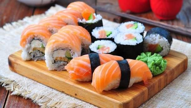 Суші не можна Їсти під час правильного харчування
