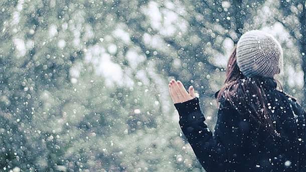 Первый снег в Украине: реакция звезд