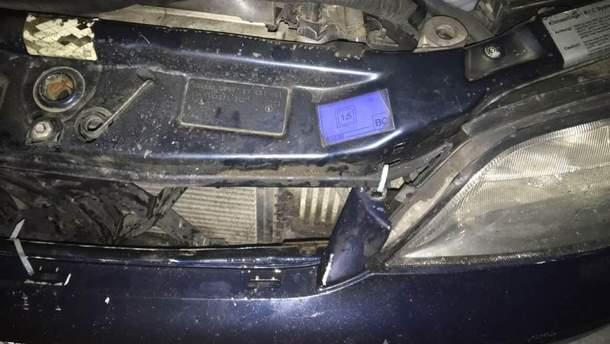 Побите після аварії авто