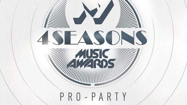 "PRO-PARTY ""M1 Music Awards. 4 Seasons"""