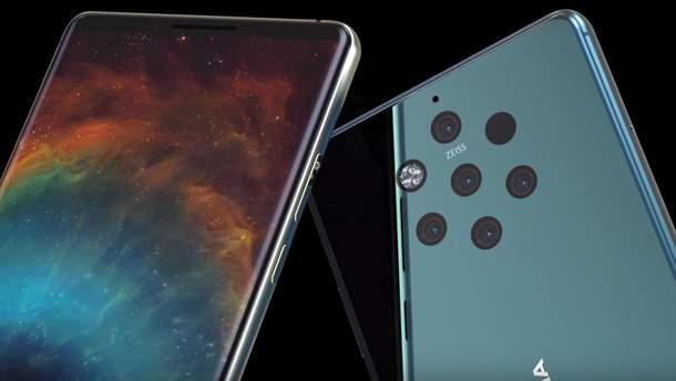 HMD Global визначилася із датою презентації смартфона Nokia 9 із п'ятьма камерами