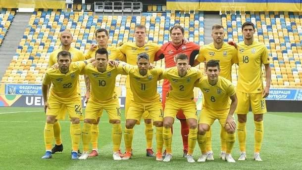 Сборная Украины разгромно уступила Словакии в матче Лиги наций