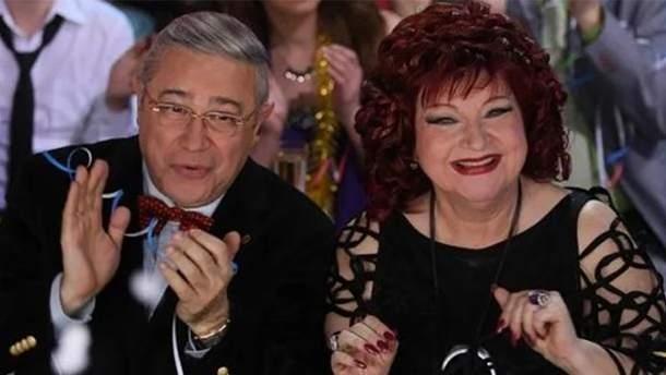 Євген Петросян і Олена Степаненко офіційно розлучились