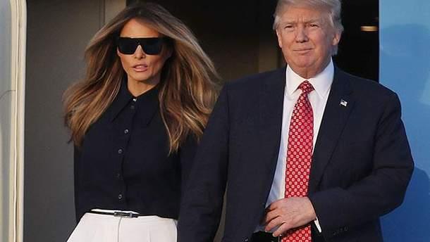 Ненавидит, но держит рядом: каким колоссальным влиянием обладает Мелания Трамп на своего мужа