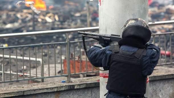 Звідки стріляв затриманий снайпер з Майдану: з