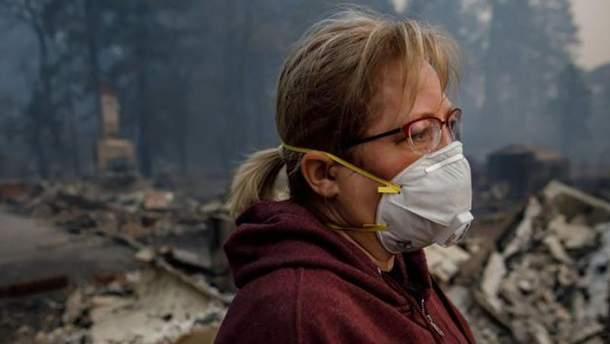 Якість повітря у Північній Каліфорнії – наразі найгірша у світі
