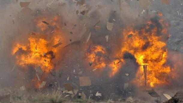 З'явилось відео вибуху в Чечні