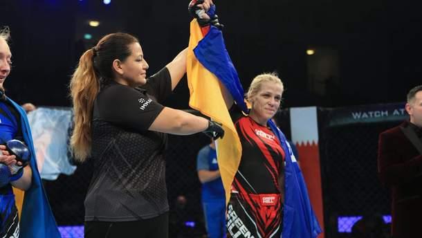 Дарина Самчик виборола золото на чемпіонаті світу по ММА
