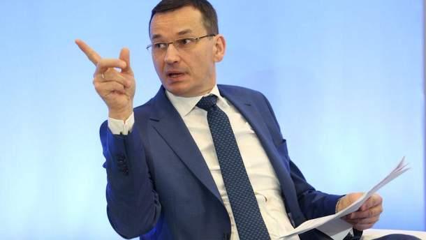 Премьер Польши: После запуска «Северного потока-2» Путин может пойти наКиев