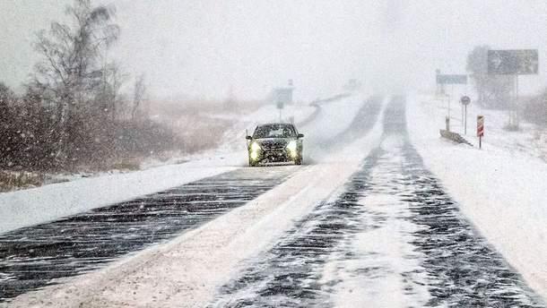 Українська недбалість: через прихід зими в Україні трапилась тисяча ДТП впродовж доби