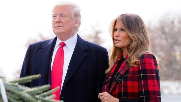 Дональд та Меланія Трамп готують Білий дім до Різдва: зворушливі фото