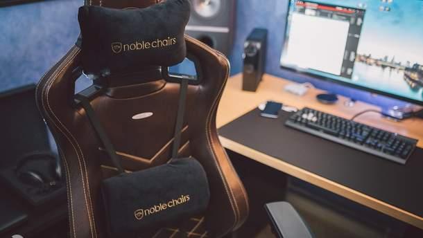Геймерські крісла Noblechairs надійшли у продаж в Україні