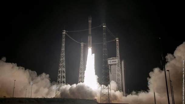 Запуск ракети Vega