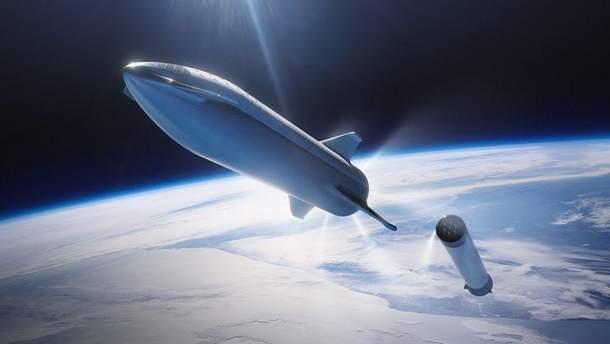 Концепт ракеты-носителя BFR