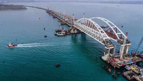 Кримський міст може тріснути