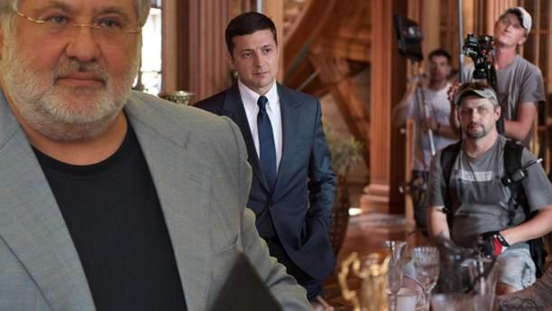 Коломойський заборгував Зеленському 4 мільйони доларів, які пообіцяв повернути, якщо гуморист піде у президенти