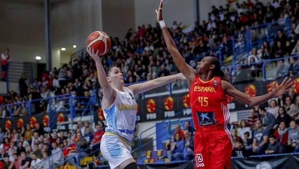 Збірна України програла Іспанії у відборі жіночого ЧЄ-2019 | Баскетбол