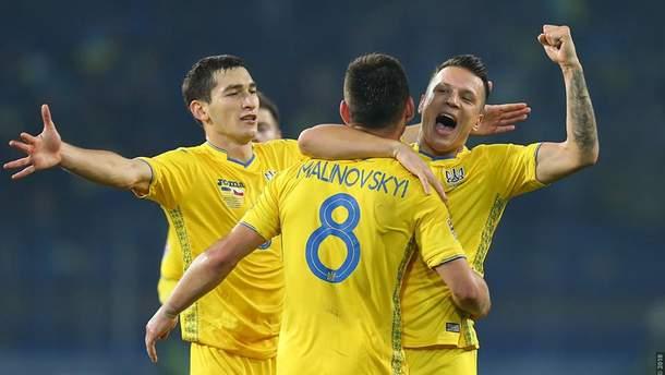 Гол Коноплянки не врятував збірну України від поразки Словаччині