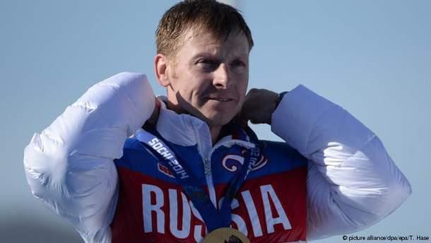 Олександр Зубков під час Олімпіади-2014