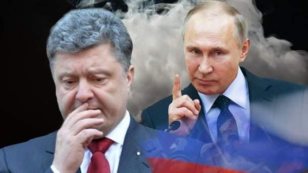 Порошенко в большой зависимости от России